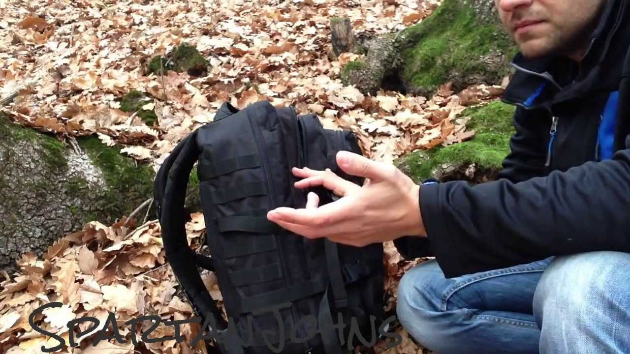 b0e8ba0a94316 MIL TEC US Assault Pack II - Review after 1.5 years in use - YouTube
