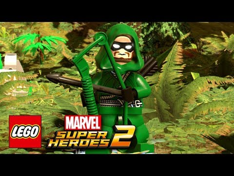 LEGO Marvel Super Heroes 2 - How To Make Green Arrow (Stephen Amell)