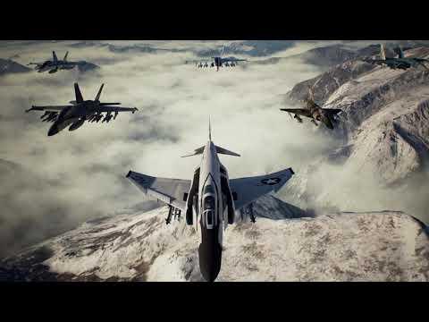 Faceless Soldier | Ace - F-4E - LAGM - No Parts| Ace Combat 7: Skies Unknown. |