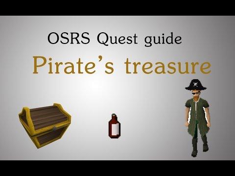 [OSRS] Pirates treasure quest guide
