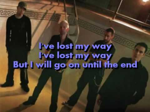 Breaking Benjamin - Until The End (Lyrics on screen)