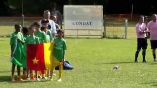 Condat sur Vézère les 20 et 21 juin 2015. Le stade Blayais Football...