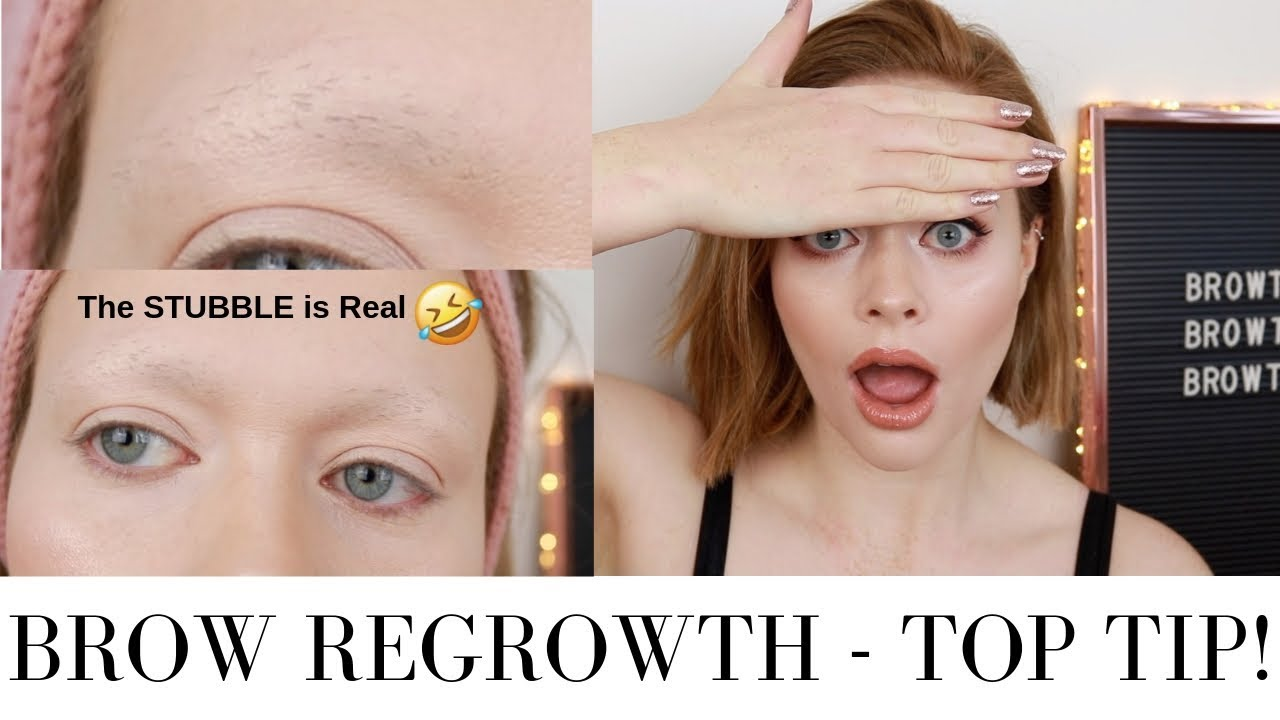HELP! My Eyebrows Are Growing BACK! My Top Tip #BROWTOBER ...