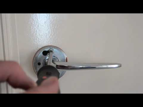 How To Child / Toddler Proof Lever Door Handles - YouTube