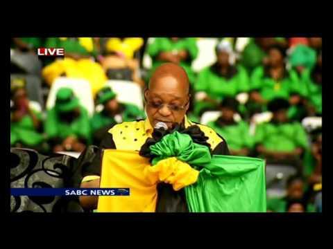 Pres Jacob Zuma address speech at Mpumalanga Manifesto launch