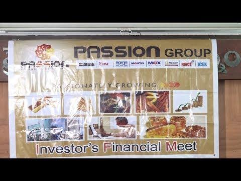 Passion Group Investors Financial Meet Visakhapatnam