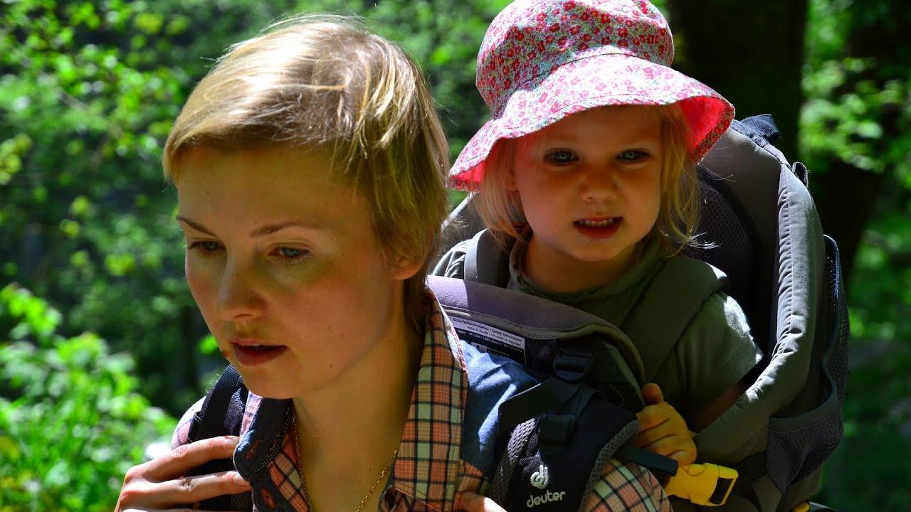 Пеший поход в горах с маленьким ребенком. Сочи, Агурские водопады.