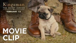 "Kingsman: The Secret Service | ""Puppy"" Clip [HD] 