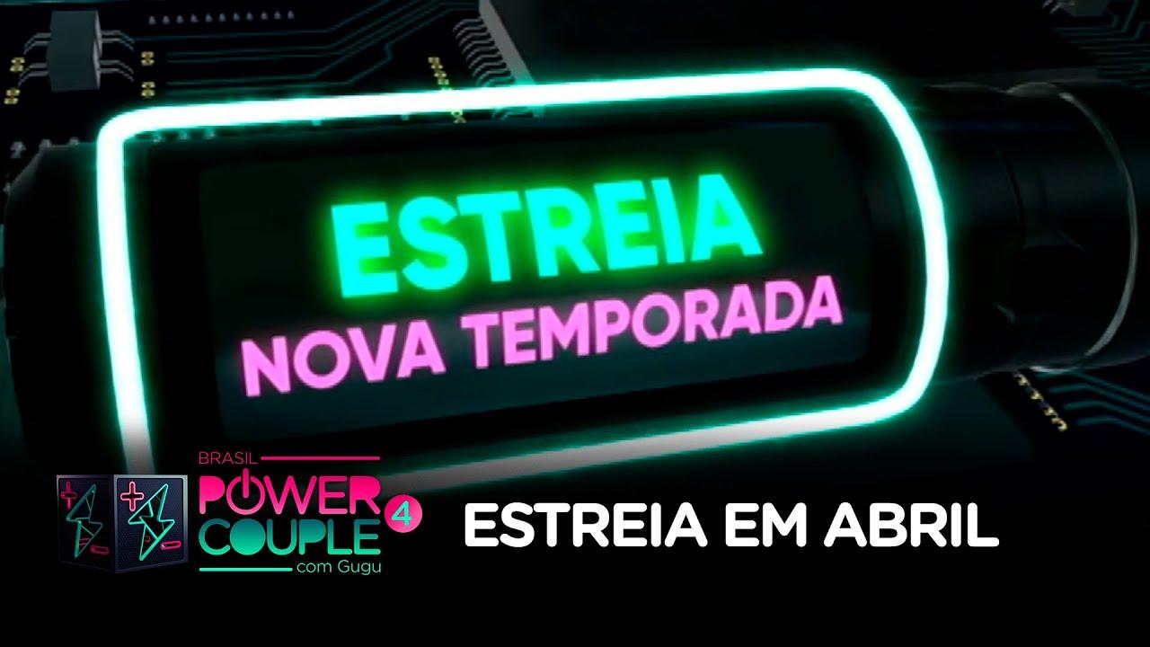 Power Couple Brasil 4 estreia em abril no comando de Gugu Liberato