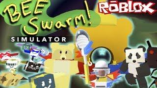NOOB vs PRO vs HACKER in Roblox Bee Swarm Simulator!
