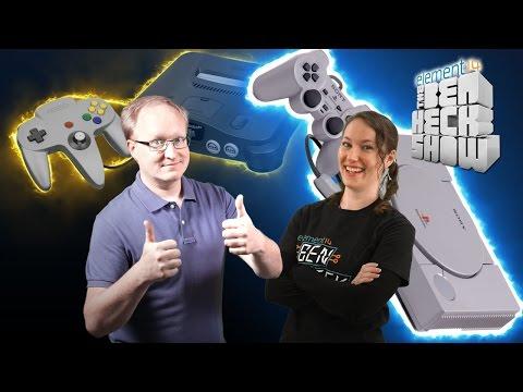 Ben Heck's Console Wars: PlayStation 1 vs Nintendo 64