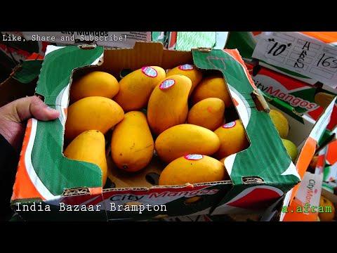 (4K) Grocery Shopping at India Bazaar Brampton Ontario Canada