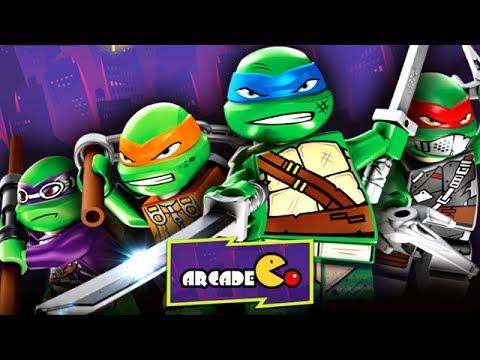 LEGO TEENGAGE MUTANT NINJA TURTLES: ShellShock - Lego Movie Game ...