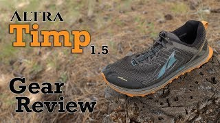 Altra Timp 1.5 - The Perfect Trail Shoe?