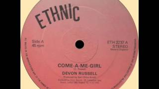 Devon Russell - Come A Me Girl (ETHNIC) 12""