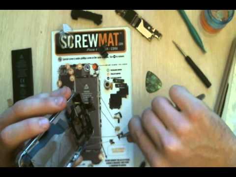 Broken iPhone 4 Screen Replacement (Verizon version) - Wildcat Screen Repair, Tucson Arizona