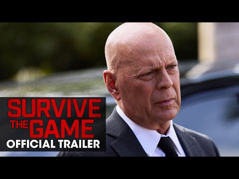 Survive the Game (2021) Official Trailer - Chad Michael Murray , Bruce Willis, Swen Temmel