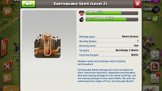 Earthquake | How to use Spells #3 | Clash of Clans