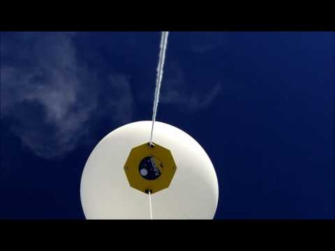 ACES-48: Streaming Flight Video Test Top View