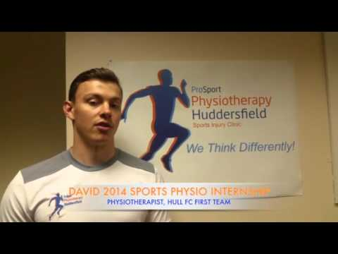 David Sports The ProSport Academy Internship 2014 Graduate Testimonial