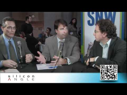 Gary Orenstein, writer at GigaOm - SNW 2011 - theCUBE