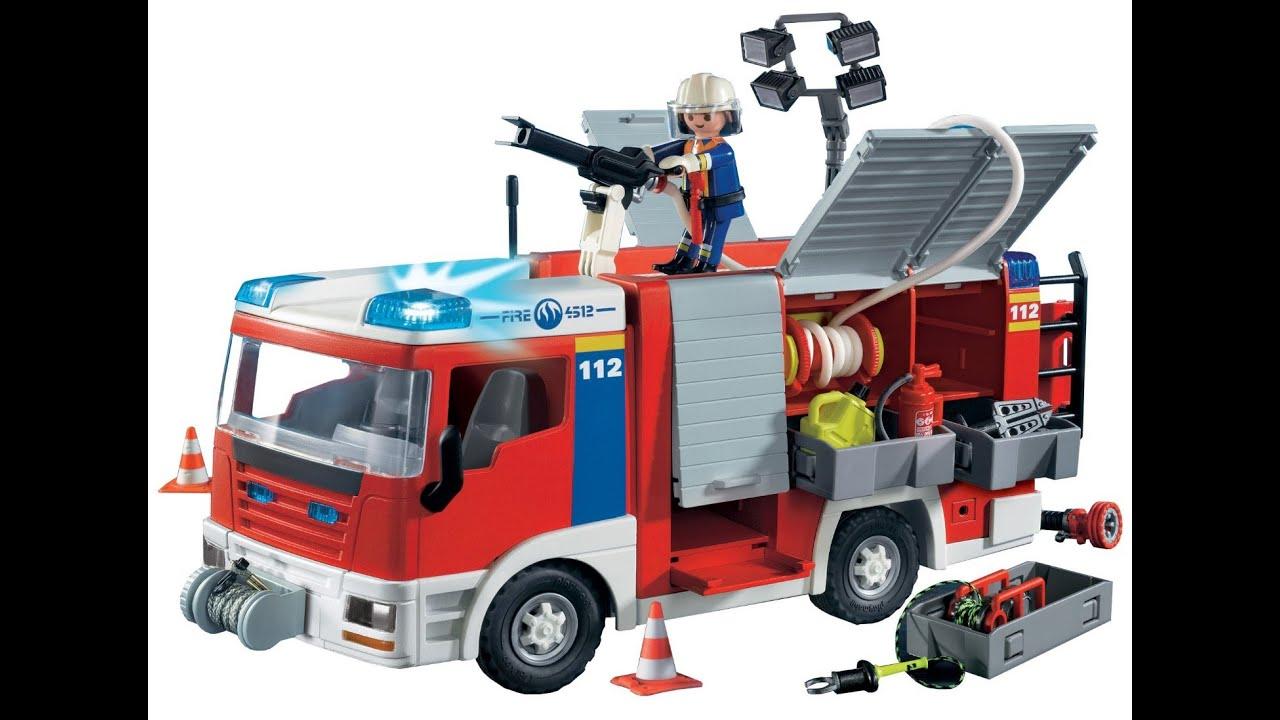 camion pompier jouet. Black Bedroom Furniture Sets. Home Design Ideas