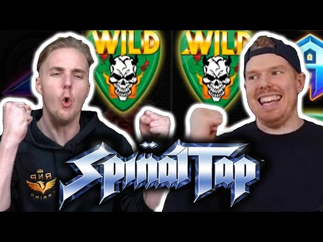 BIG WIN on SPINAL TAP - Casino Slots Big Wins