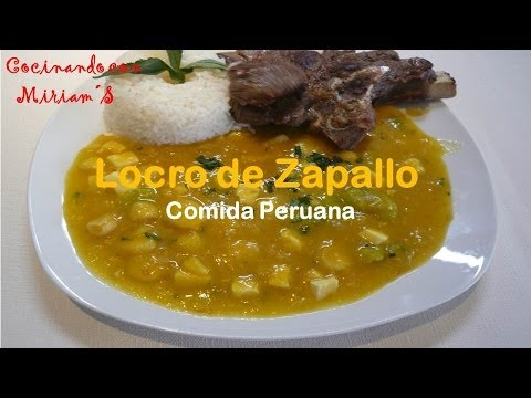 Locro de zapallo recetas comida peruana youtube