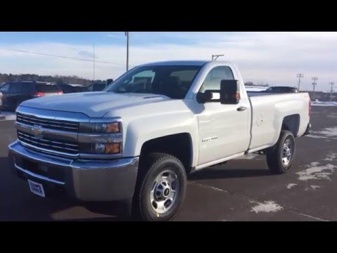 2016 Chevrolet Silverado 2500 Regular Cab at Don Johnson Motors in Rice Lake, WI - YouTube
