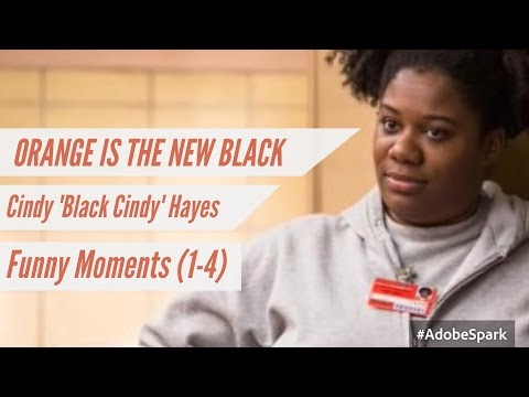 Cindy 'Black Cindy' Hayes || Funny Moments S1-4 || OITNB