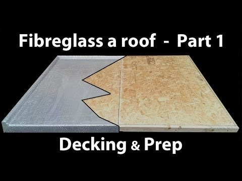 Part 1 How To Install A Fibreglass Roof Grp Timber
