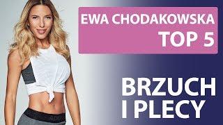 TOP 5 - Ewa Chodakowska - abs / back