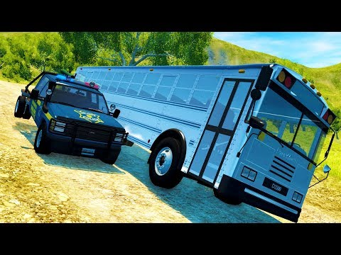 OFF-ROAD RALLY COURSE POLICE CHASES IN MULTIPLAYER BEAMNG! - BeamNG Drive Gameplay w/ Neilogical