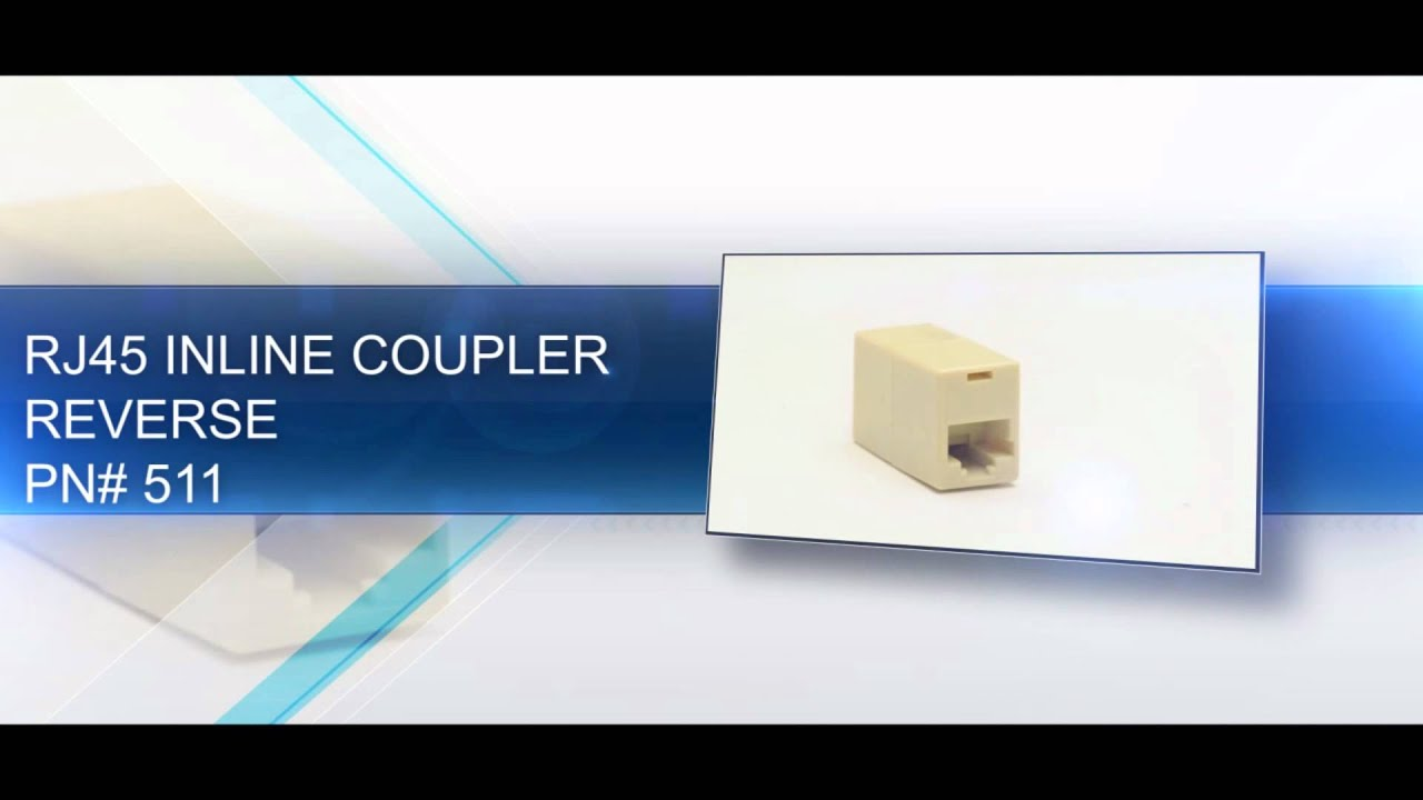 Rj45 Inline Coupler Overview Youtube Wiring Diagram Premium
