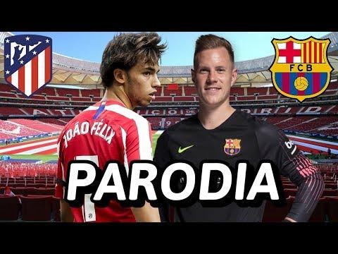 Canción Atleti vs Barcelona 0-1 (Parodia Tutu - Camilo, Pedro Capó)