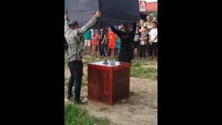Pertunjukan kekuatan Gaib, katanya bukan sulap dan bukan sihir di Dasana Indah, Tangerang Banten