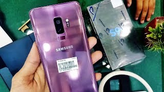 Samsung Galaxy S9 Plus 128GB Unboxing & First Look - Did Samsung Do Enough?