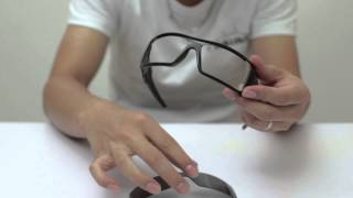 Oakley Oil Rig Sunglasses Lenses Replacement(Installation/Removal)