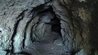 Фото Потерянная Абхазия.  10   Проход в скале к Третьему ущелью