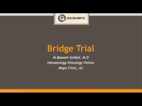 SAMS Online Journal Club   2nd Session: Therapy Paper - Bassam Sonbol, MD