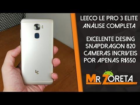 Leeco LePro3 Elite - Apenas R$550, Mas tem Câmera excelente e roda QUALQUER JOGO no ULTRA - Análise