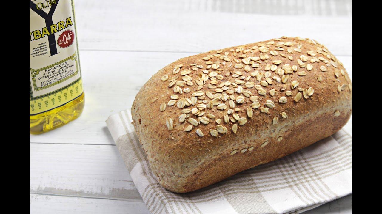 C mo hacer pan de molde integral viyoutube Como hacer una cocina integral en casa