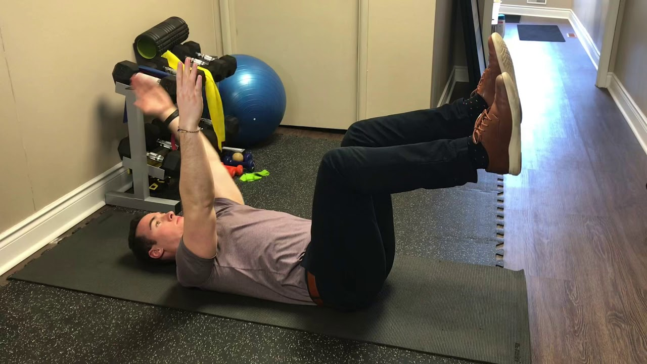 Core Stability Routine for Back Pain