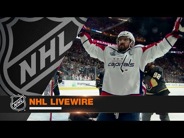 NHL LiveWire: Capitals, Golden Knights mic'd up for epic Game 2