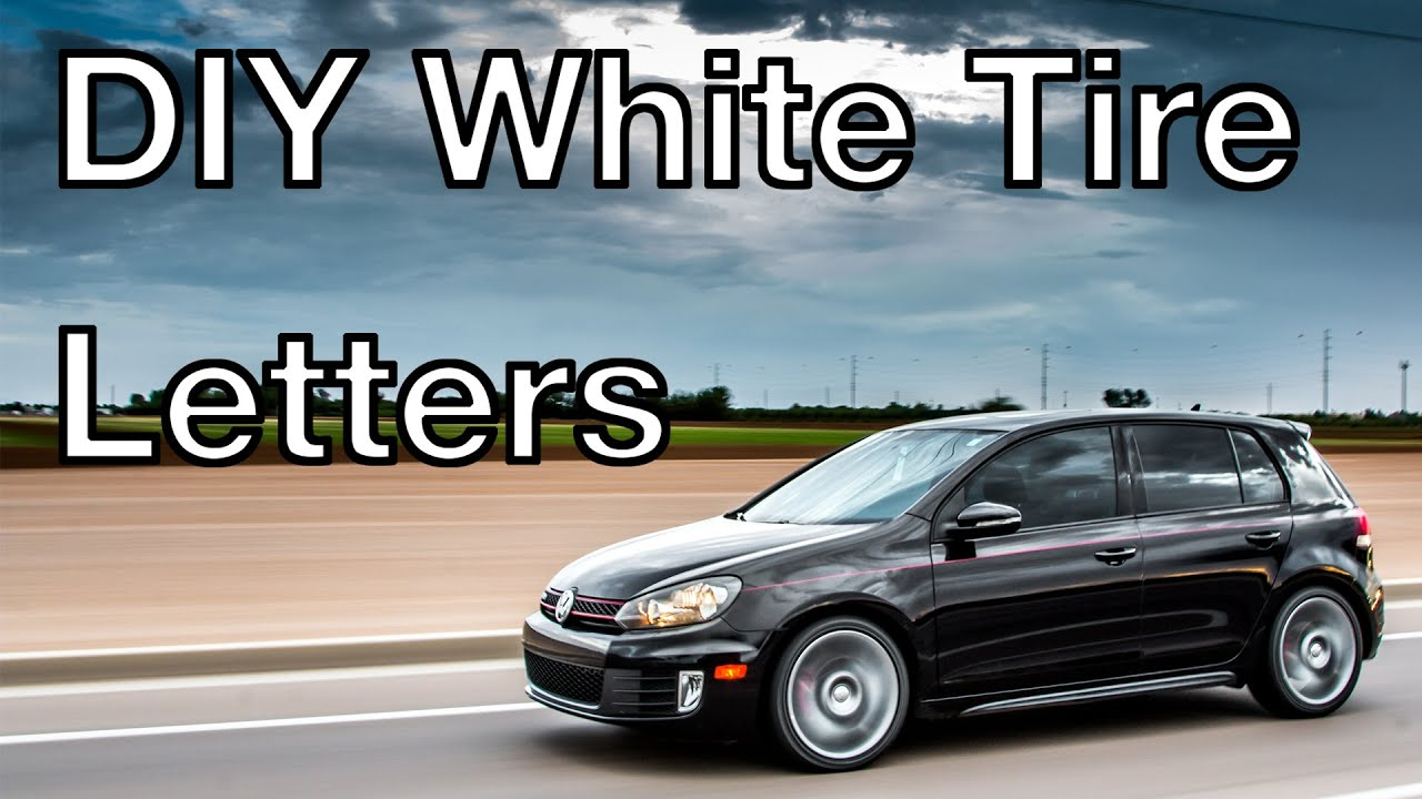 white tire lettering diy white tire letters how to 25642 | maxresdefault