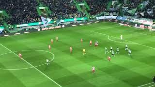 Video Gol Pertandingan Sporting CP vs Aves