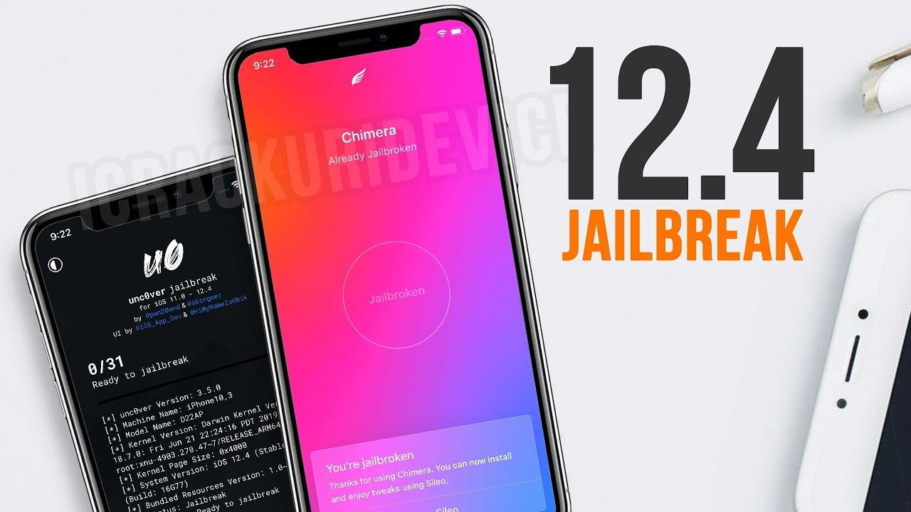 NEW Jailbreak iOS 12 4 & Install Sileo OR Cydia! (Chimera VS Unc0ver)