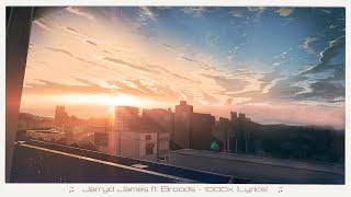 Jarryd James - 1000x ft. Broods (Lyrics)