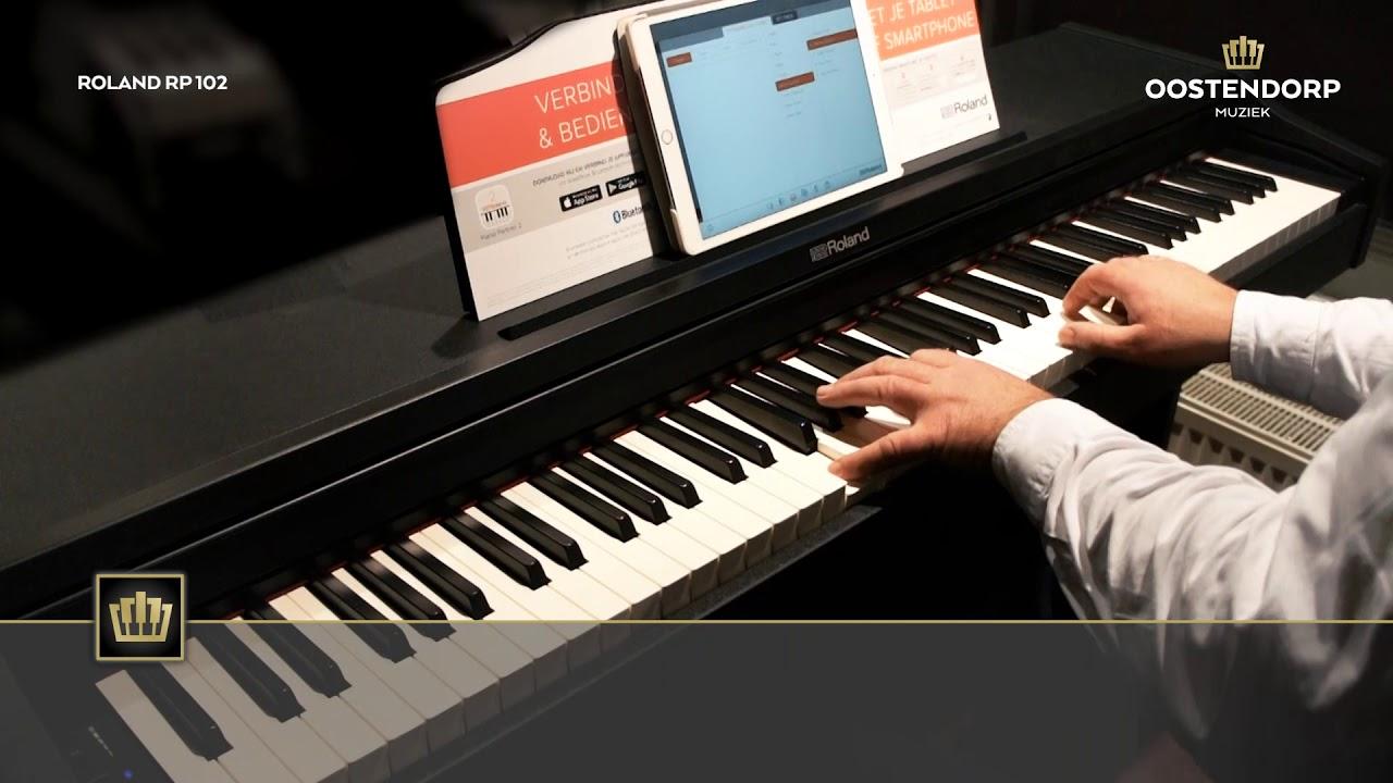Đánh giá piano điện Roland RP-102: Model khởi đầu của loạt RP Series