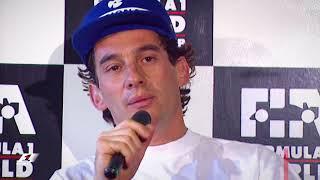 Senna Rages After Bust-Up With Irvine   1993 Japanese Grand Prix
